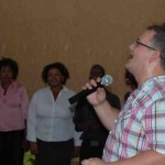 Worship Leader Rich Ashby Africa